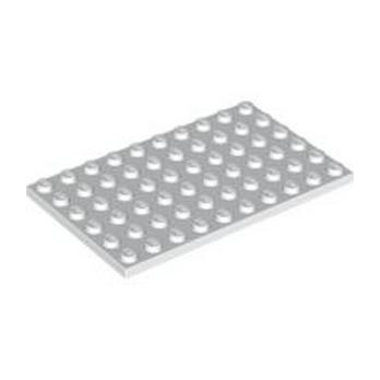 LEGO 303301 PLATE 6X10 - BLANC