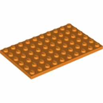 LEGO 4505159 PLATE 6X10 - ORANGE