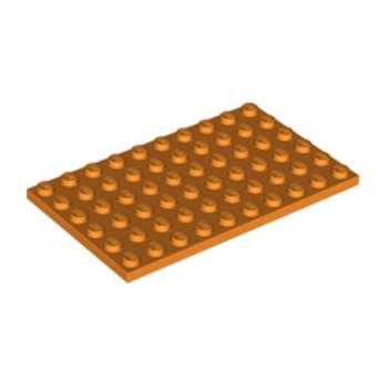 LEGO 6034497 PLATE 6X10 - ORANGE