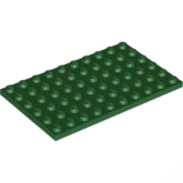 LEGO 4549214 PLATE 6X10 - EARTH GREEN