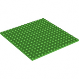 LEGO 4611777 PLATE 16X16 - BRIGHT GREEN