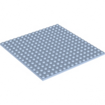LEGO 4600613 PLATE 16X16 - LIGHT ROYAL BLUE lego-4600613-plate-16x16-light-royal-blue ici :