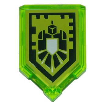 Accessoire LEGO® : Nexo Knights - Bouclier - Nexo Power