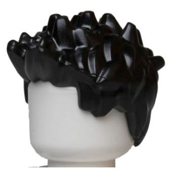 LEGO 6039803 - Cheveux Homme - Noir