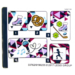 Stickers / Autocollant Lego Friends - 41322 stickers-autocollant-lego-friends-41322 ici :