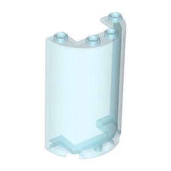 LEGO 4639346 MUR/CLOISON  5X4X2 - BLEU TRANSPARENT