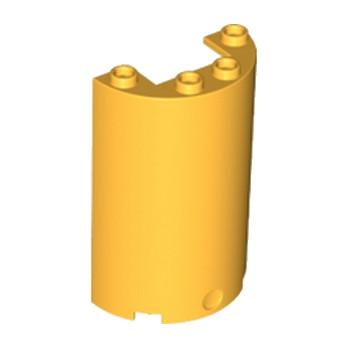 LEGO 6064461 MUR/CLOISON 5X4X2 - Flame Yellowish Orange