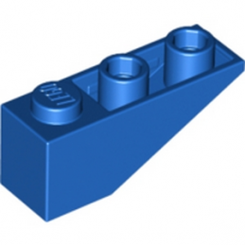 LEGO 428723 TUILE 1X3/25° INV. - BLEU