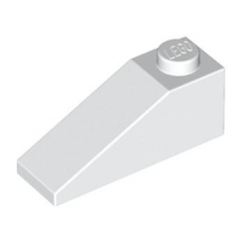 LEGO 428601 TUILE 1X3/25° - BLANC
