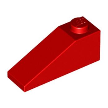 LEGO 428621 TUILE 1X3/25° - ROUGE