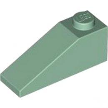 LEGO 4155045 TUILE 1X3/25° - SAND GREEN