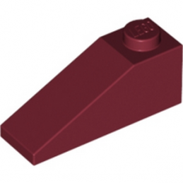 LEGO 4168940 TUILE 1X3/25° - NEW DARK RED