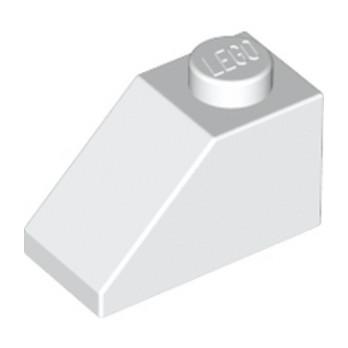 LEGO 304001 TUILE 1X2/45° - BLANC lego-4121932-tuile-1x245-blanc ici :