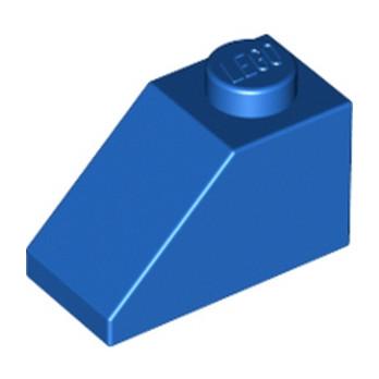 LEGO 304023  TUILE 1X2/45° - BLEU