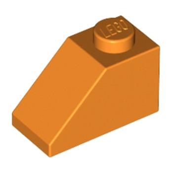LEGO 4118901 TUILE 1X2/45° - ORANGE