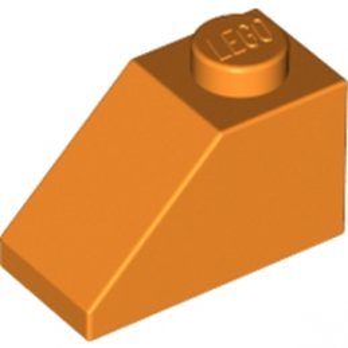 LEGO 4118901 TUILE 1X2/45° - ORANGE lego-4121967-tuile-1x245-orange ici :