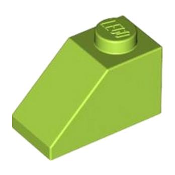 LEGO 4164024 TUILE 1X2/45° - BR.YEL-GREEN lego-4537925-tuile-1x245-bright-yellowish-green ici :