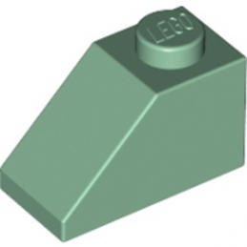 LEGO 4143043 TUILE 1X2/45° - SAND GREEN lego-6083976-tuile-1x245-sand-green ici :
