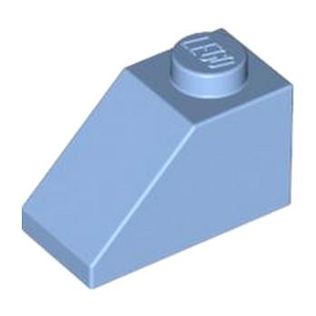 LEGO 4128582 TUILE 1X2/45° - MEDIUM BLUE