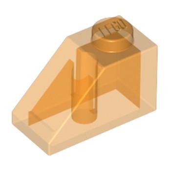 LEGO 4261934 TUILE 1X2/45° - OANGE TRANSPARENT