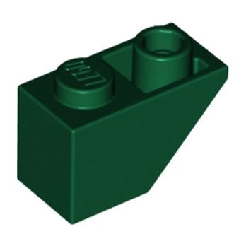 LEGO 4265357 TUILE 1X2 INV. - EARTH GREEN