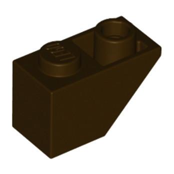 LEGO 4654915 TUILE 1X2 INV. - DARK BROWN