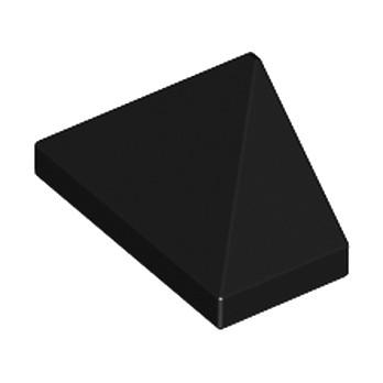 LEGO 304826  TUILE 1X2/45° - NOIR lego-6051508-tuile-1x245-noir ici :