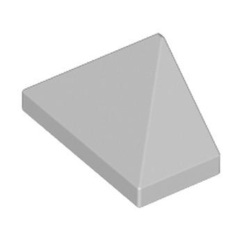 LEGO 4211411 TUILE 1X2/45° - MEDIUM STONE GREY