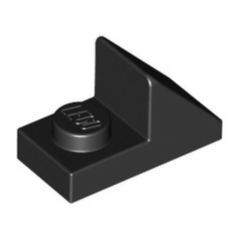 LEGO 4653087  TUILE 1X2 45° W 1/3 PLATE - NOIR lego-6069000-tuile-1x2-45-w-13-plate-noir ici :