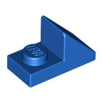 LEGO 4620297  TUILE 1X2 45° W 1/3 PLATE - BLEU