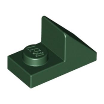 LEGO 4648467 TUILE 1X2 45° W 1/3 PLATE - EARTH GREEN