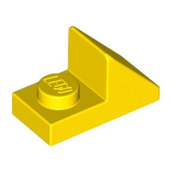 LEGO 6018491 TUILE 1X2 45° W 1/3 PLATE - JAUNE