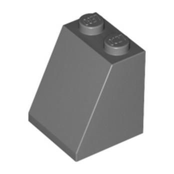 LEGO 4210760 TUILE 2X2X2/65 DEG. - DARK STONE GREY