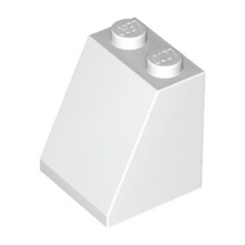 LEGO 367801 TUILE 2X2X2/65 DEG. - BLANC