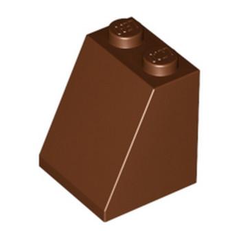 LEGO 4211320 TUILE 2X2X2/65 DEG. - REDDISH BROWN lego-4211320-tuile-2x2x265-deg-reddish-brown ici :