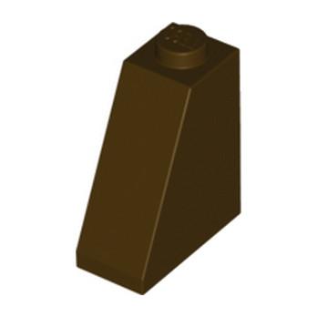 LEGO 4624089 TUILE 2X1X2 - DARK BROWN