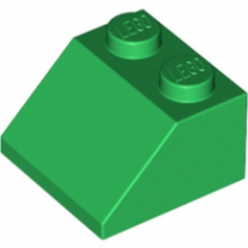LEGO 303928 TUILE 2X2/45° - DARK GREEN