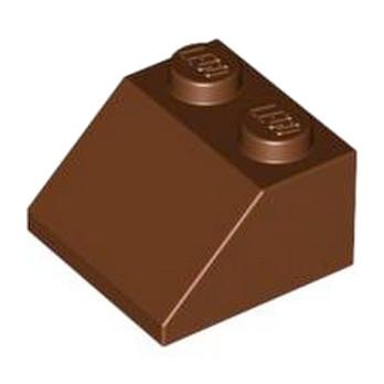 LEGO 4211202 TUILE 2X2/45° - REDDISH BROWN
