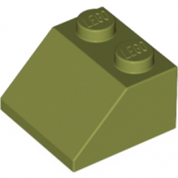 LEGO 6016474 TUILE 2X2/45° - OLIVE GREEN