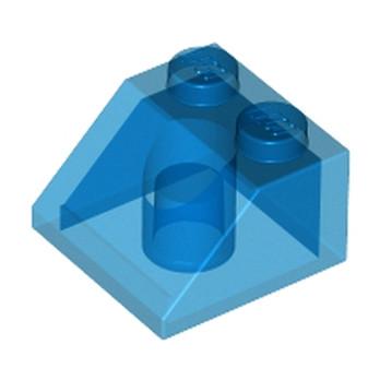 LEGO 622743  TUILE 2X2/45° - BLEU FONCE TRANSPARENT lego-6244887-tuile-2x245-bleu-fonce-transparent ici :