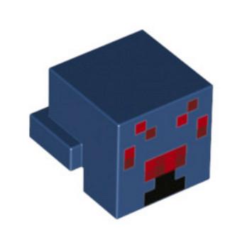 LEGO 6153845 - Drapeau 2x3 - Rouge  Imprimé Minecraft