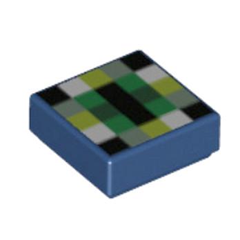 LEGO 6137144 - Plate Lisse 1x1 - Imprimé Minecraft