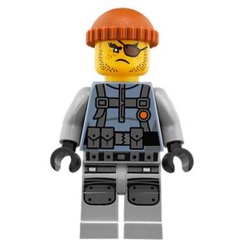 Mini Figurine LEGO® : Ninjago - Le bandit de l'armée des requins