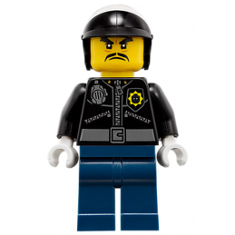 Mini Figurine LEGO® : Ninjago - Officier Toque