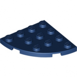 LEGO 4506996 PLATE 4X4, 1/4 CIRCLE - EARTH BLUE