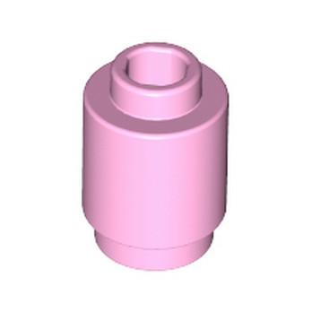 LEGO 6099375 BRIQUE RONDE 1X1 - ROSE CLAIR