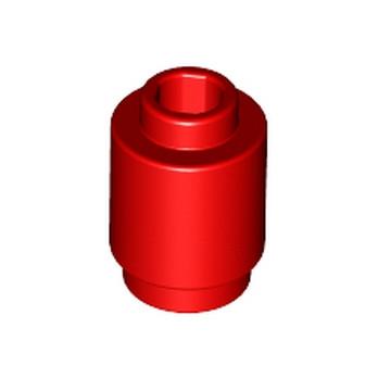LEGO 306221 BRIQUE RONDE 1X1 - ROUGE