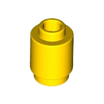 LEGO 306224  BRIQUE RONDE 1X1 - JAUNE