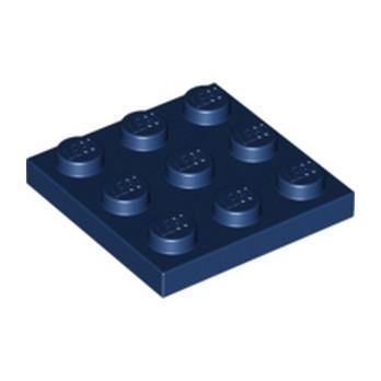 LEGO  6135597 PLATE 3X3 - EARTH BUE