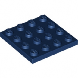 LEGO 6027625 PLATE 4X4 - EARTH BLUE